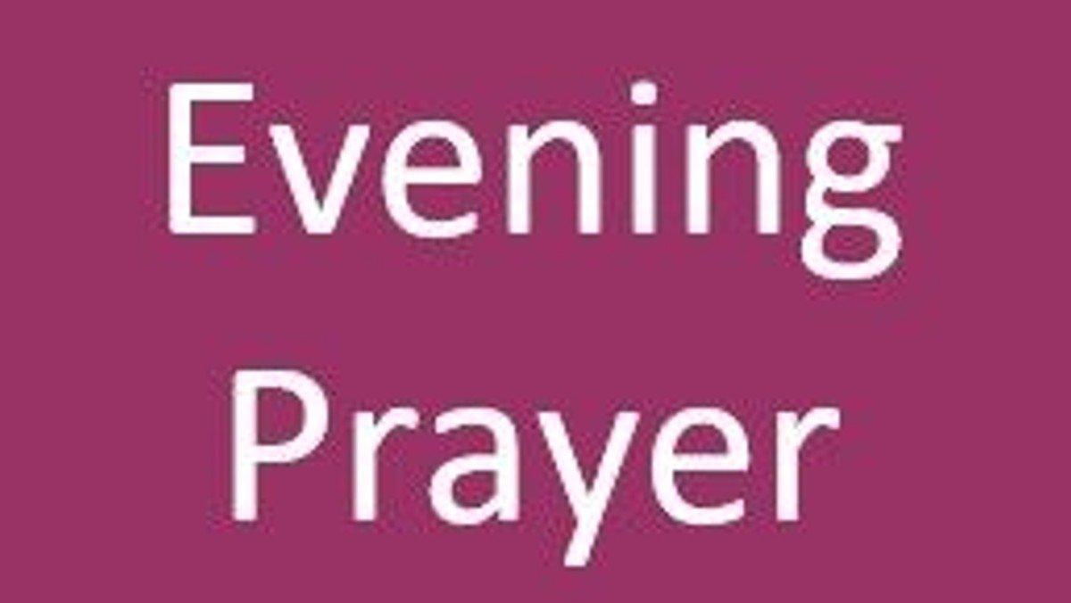 Evening Prayer (Live Stream) (copy)