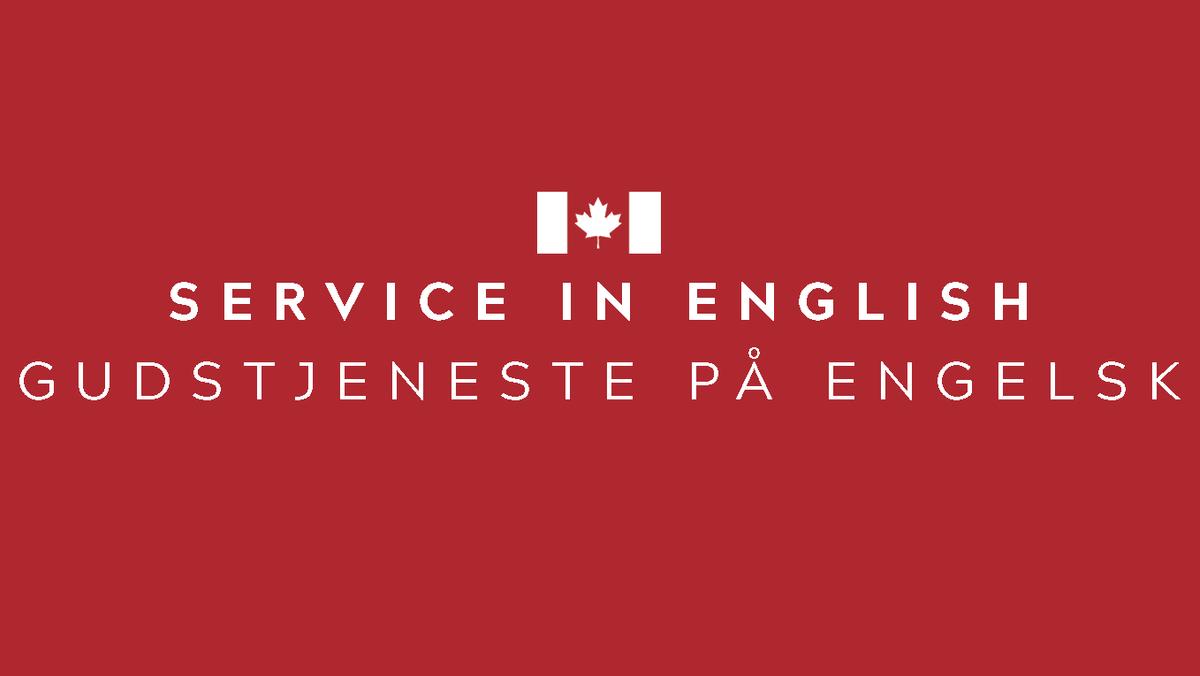 Corona-safe in-person Sunday Service - Sermon in English