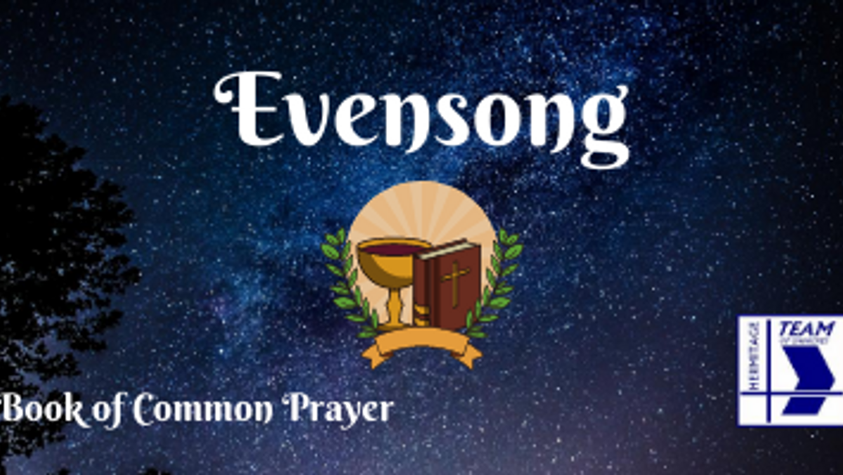 Evensong (Book of Common Prayer)