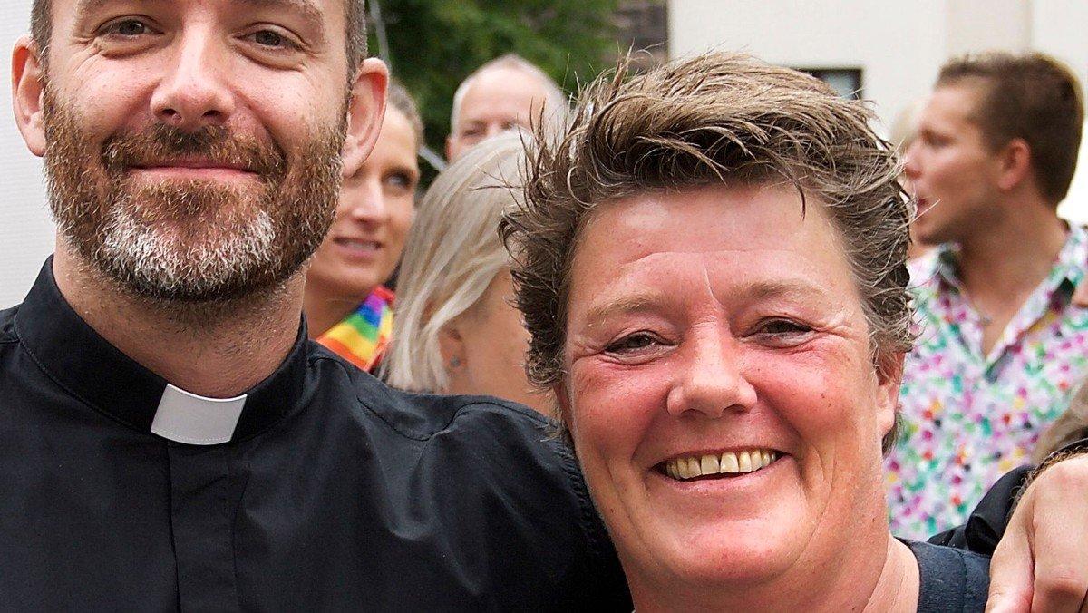 Afskedsgudstjeneste med Birgitte Kvist Poulsen og reception i Eliaskirken