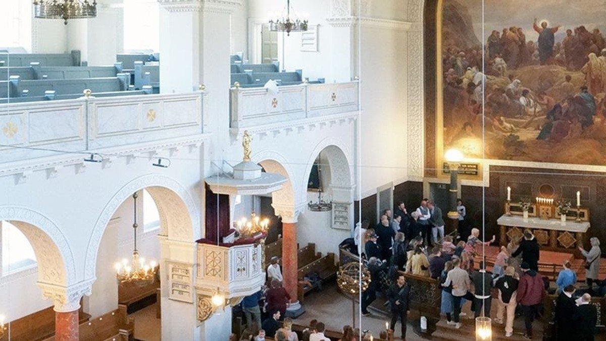 Gudstjeneste i Sct. Matthæus Kirke - livestreames på Facebook