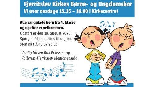 AFLYST - Fjerritslev Kirkes Børne- og Ungdomskor