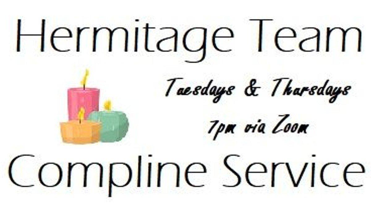 Compline Service (online via Zoom)