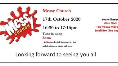 Messy Church Session via Zoom