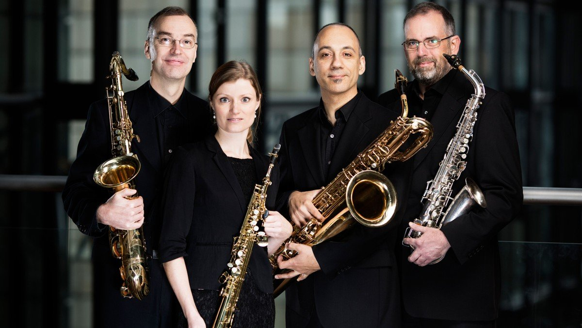 Koncert med Jutlandia Saxophone Quartet