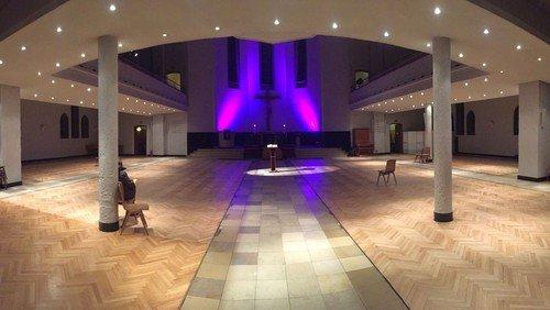 Offene Kirche zum Abschied von der Christuskirche