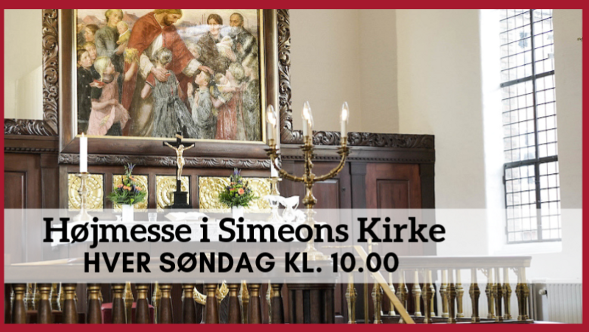 AFLYST Højmesse i Simeons Kirke
