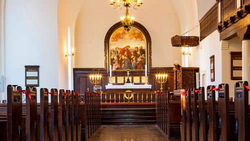 Påskegudstjeneste  i Simeons Kirke