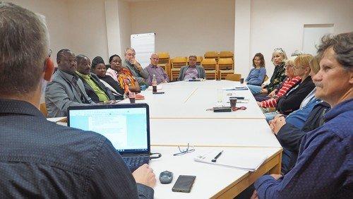 Treffen der AG Partnerschaft (digital)