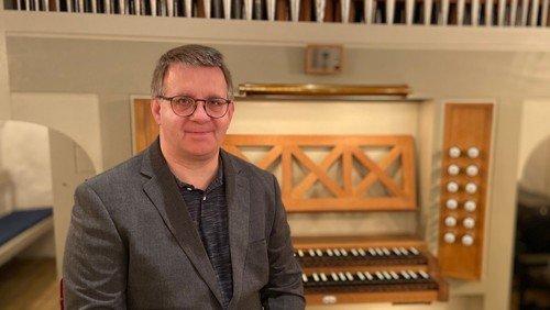 Orgelkoncert med Filip Forsberg
