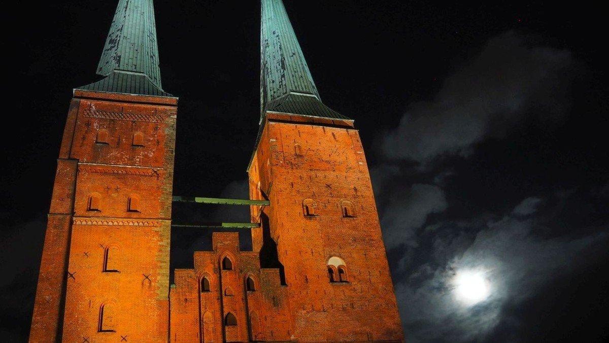 """Dom bei Nacht: """"Der Mond ist aufgegangen..."""""""
