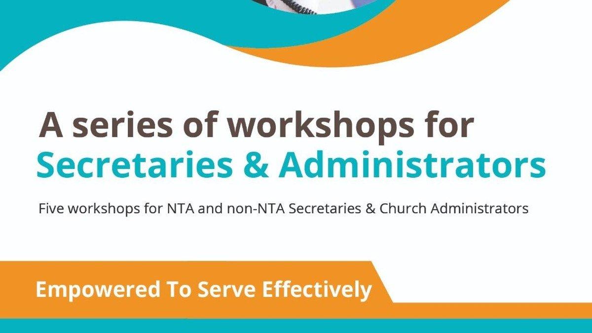 A series of workshops for Secretaries & Administrator