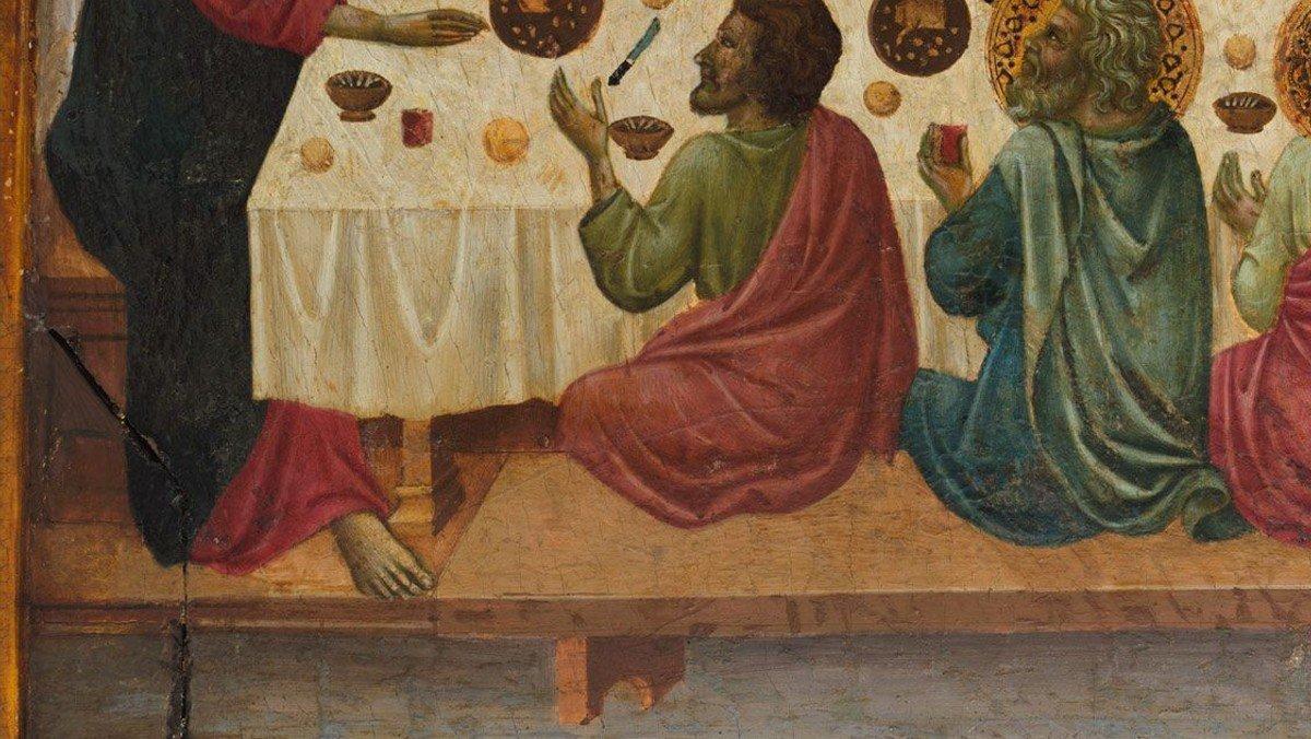 Skærtorsdag i Ganløse Kirke ved Malene Buus Graeser