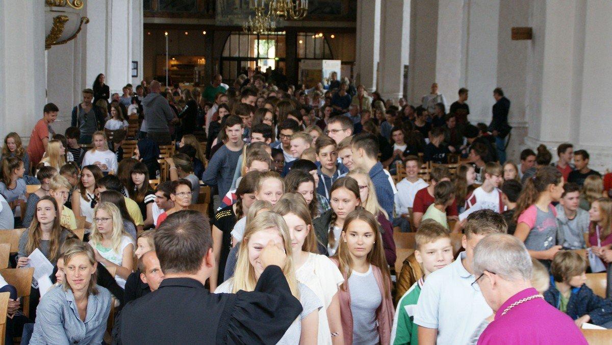 Wochenabschlussandacht des Evangelischen Gymnasium Cottbus