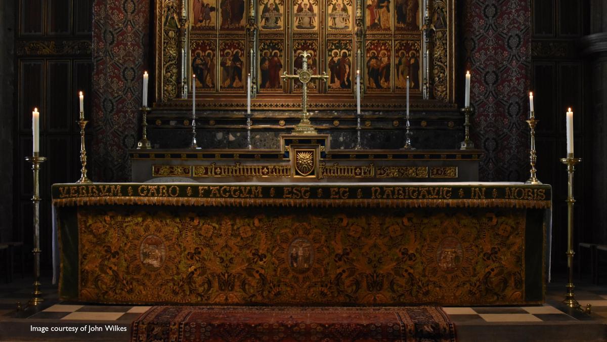 Fr James' First Mass
