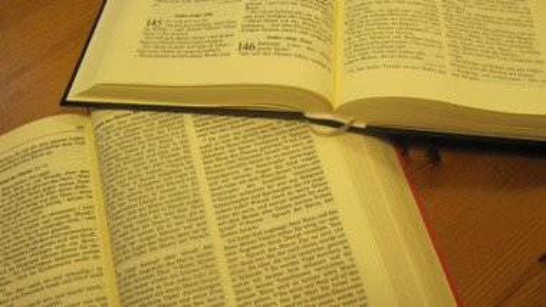 Gedichte und Gott und Bibel