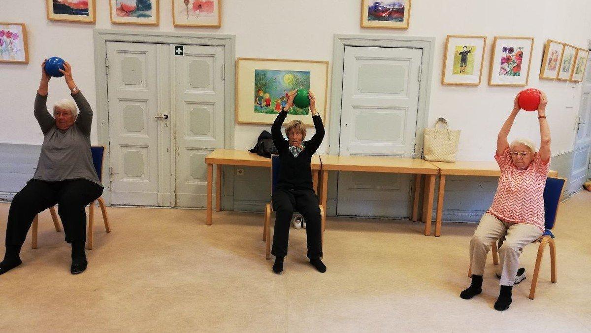 entfällt zur Zeit | Seniorengymnastik