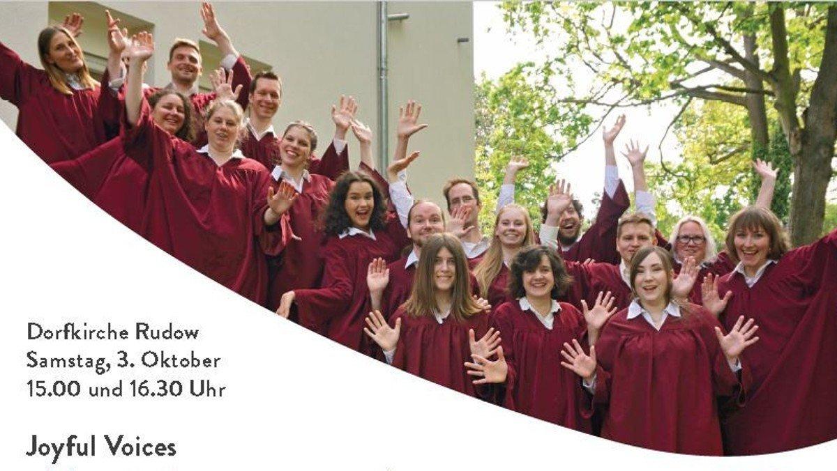 Herbst-Konzert Joyful Voices
