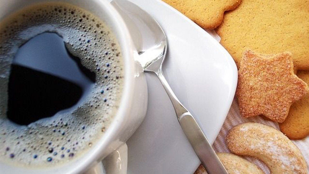 Käthes Café - Käthe klönt