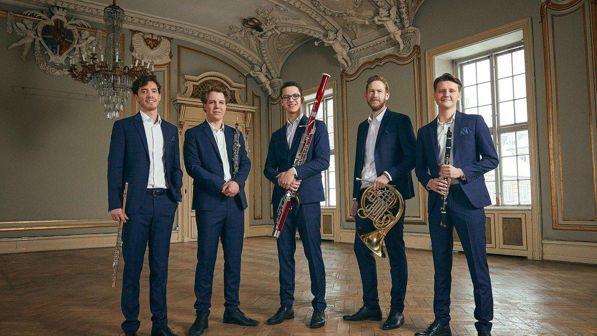Koncert med Carl Nielsen-kvintetten