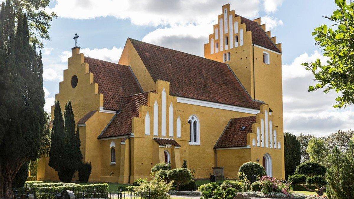 Gudstjeneste i Tjæreby kirke
