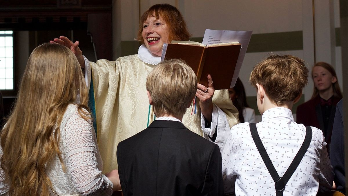 Konfirmation i Kristkirken