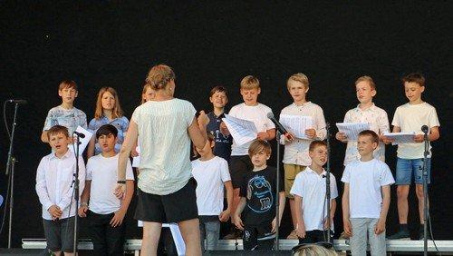 Odense Drengekor øver