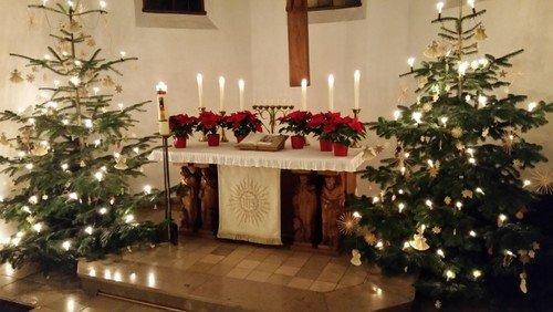 Familiengottesdienst an Weihnachten (Anmeldung notwendig)