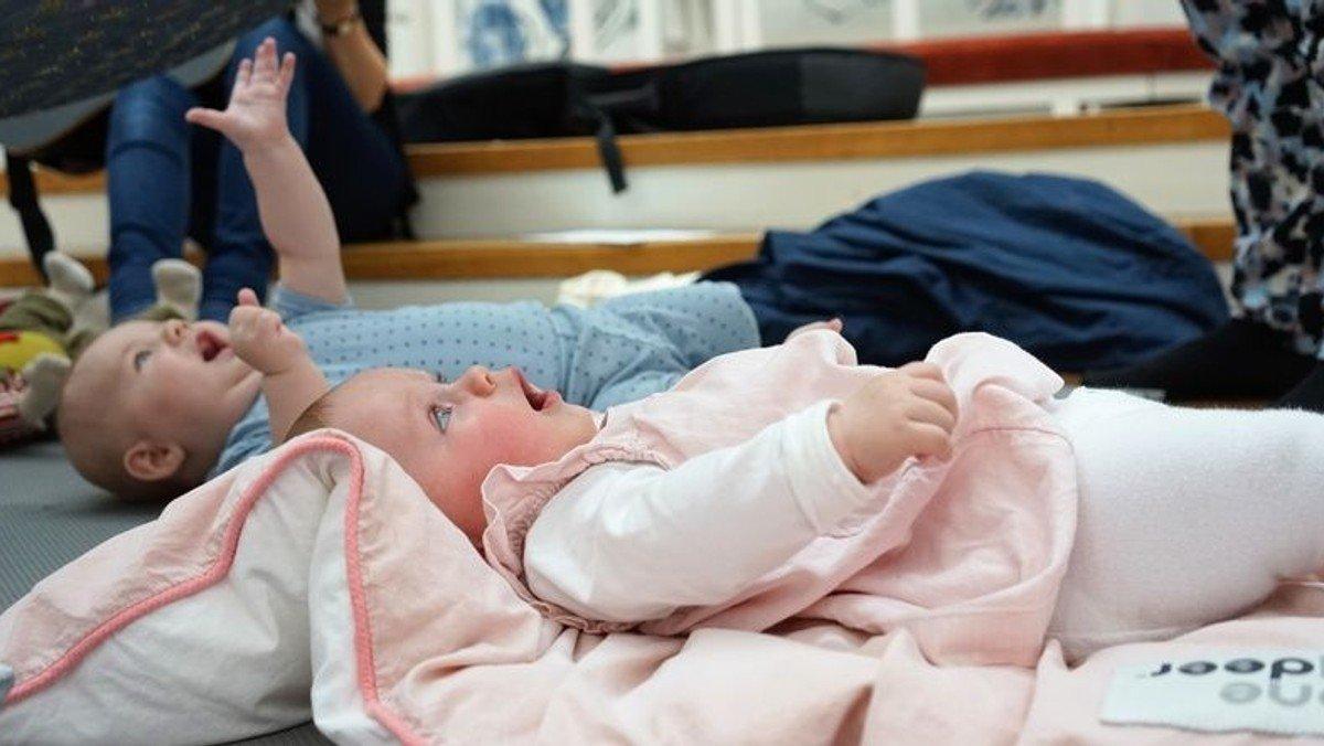 I denne uge desværre aflyst pga. sygdom!!! Babysalmesang