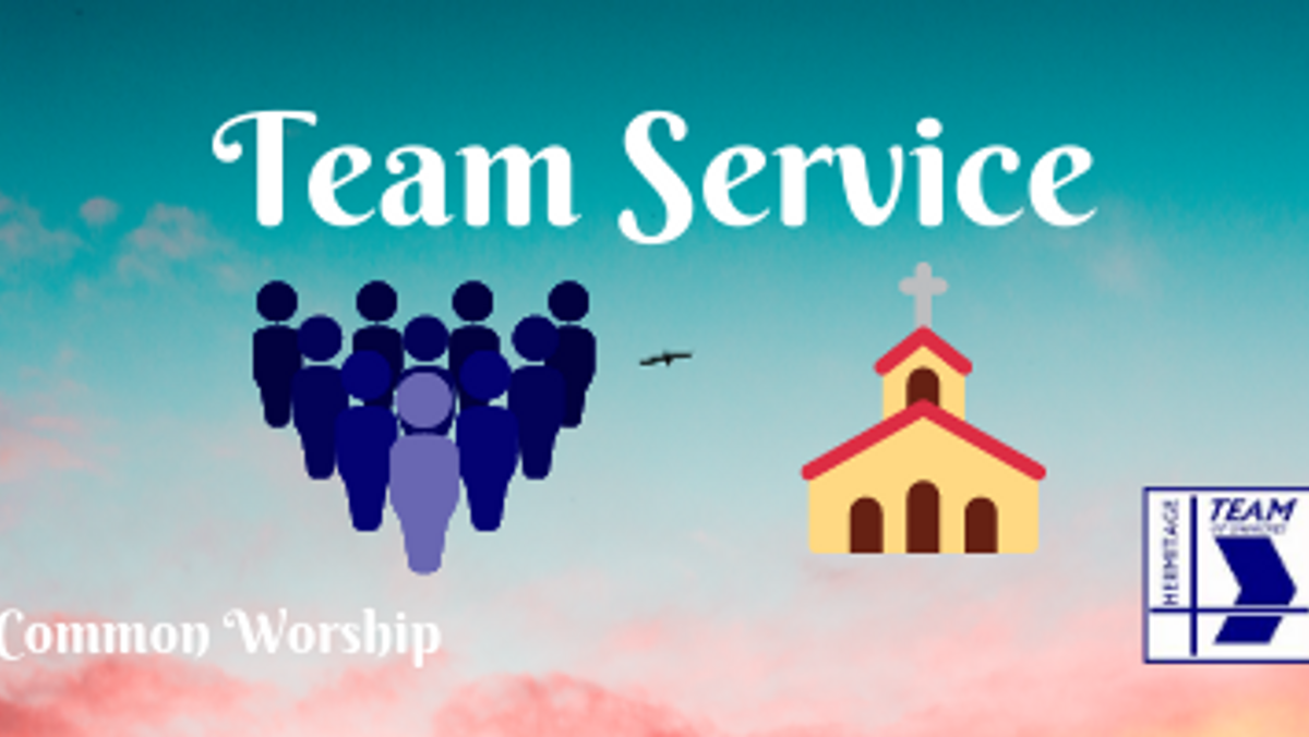 Team Service - all are welcome