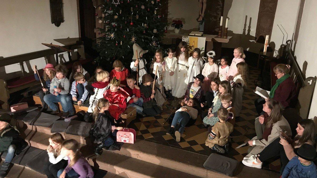 ONLINE - Familien-Weihnacht mit Liedern und Bilder-Krippenspiel