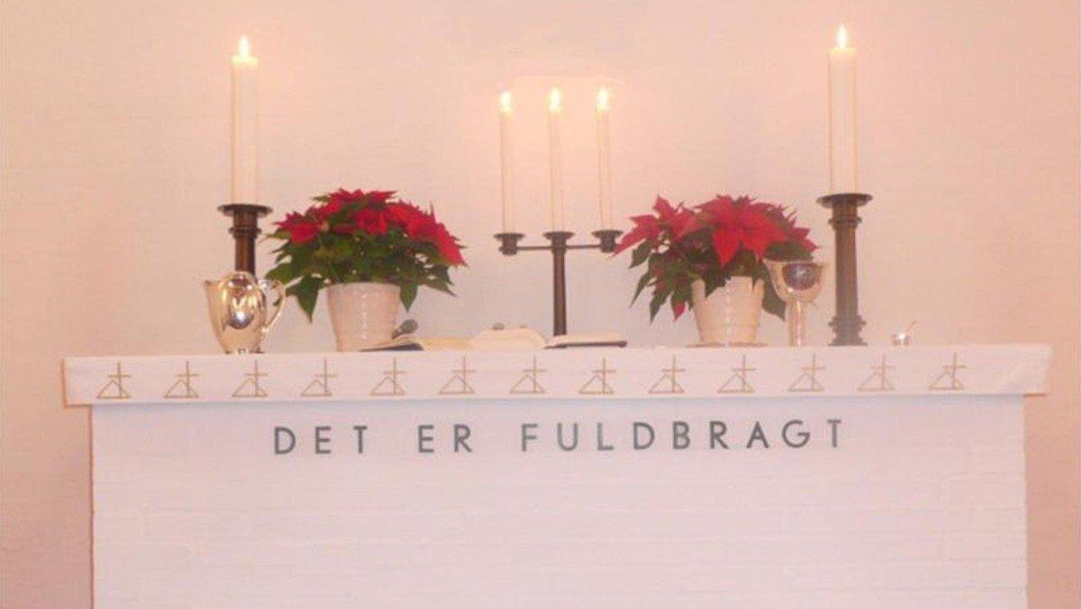 Juleaftensgudstjeneste - AFLYST!!