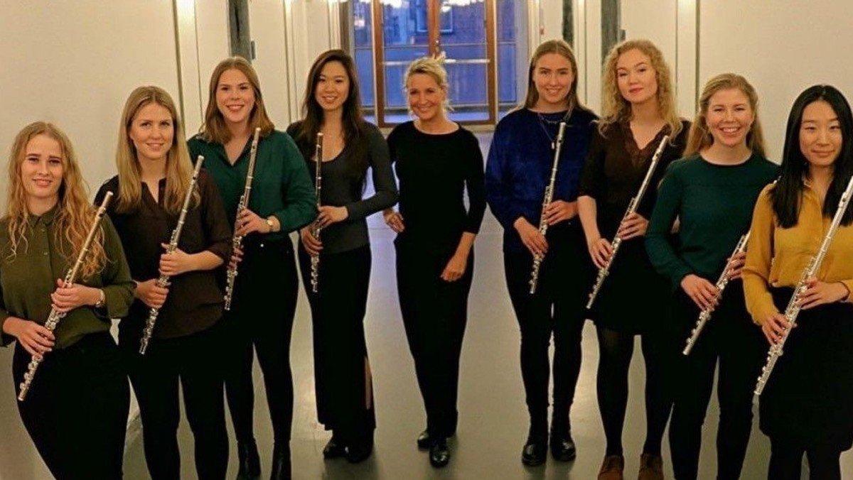 AFLYST - Julemusik, Kuhlau og Mozart med DKDM's Fløjte Ensemble