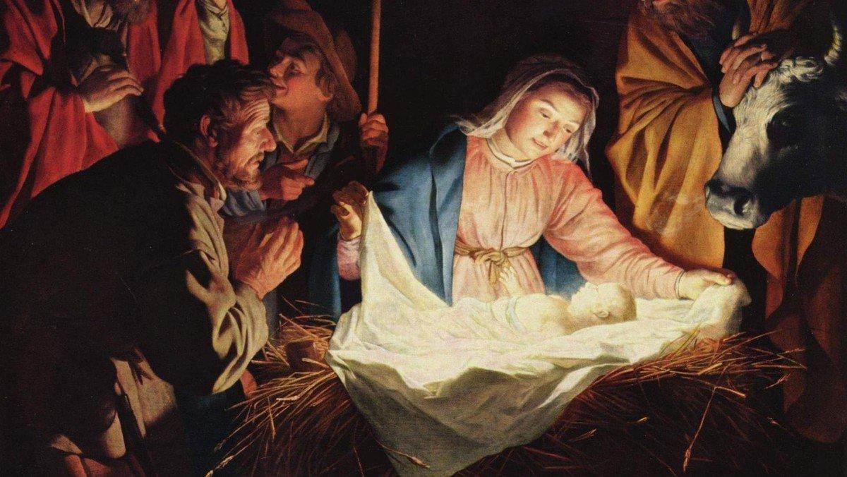 Julegudstjeneste i Ledøje Kirke v. Mads