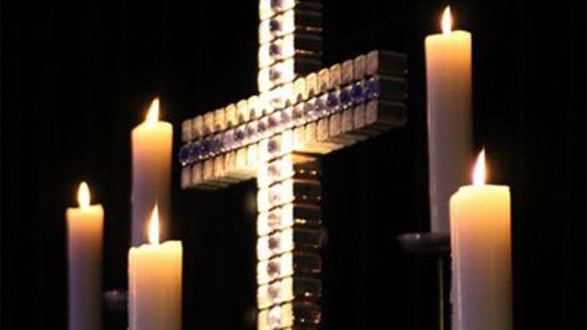 Gottesdienst mit Kerzengebet