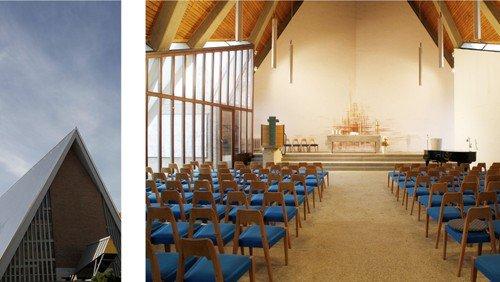 Gottesdienst  in der Kirche Alt-Lietzow (Kopie)
