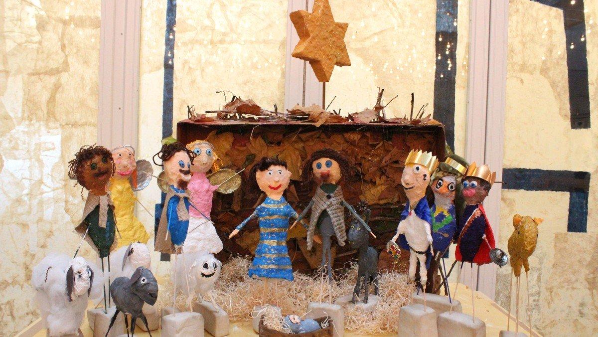 Juletræstænding og andagt