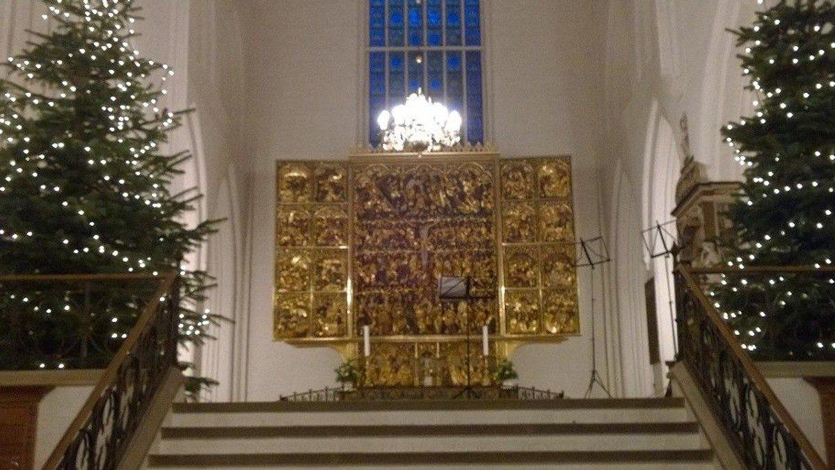 AFLYST - Julegudstjeneste i Domkirken