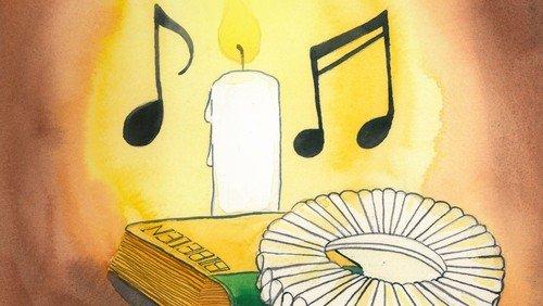 Kort gudstjeneste uden fællessang og nadver Trinitatis søndag