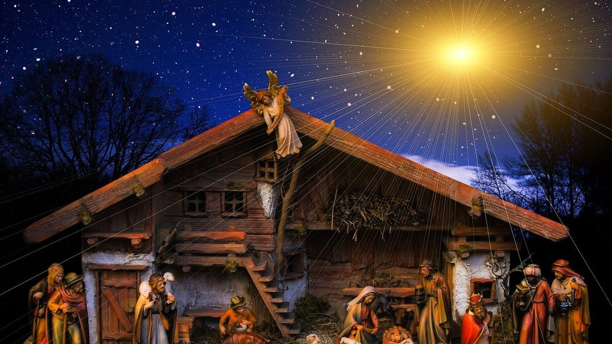 Gottesdienst zum Heiligen Abend in der Dorfkirche Schönefeld
