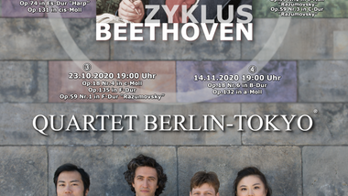 Beethoven Zyklus Quartet Berlin Tokyo