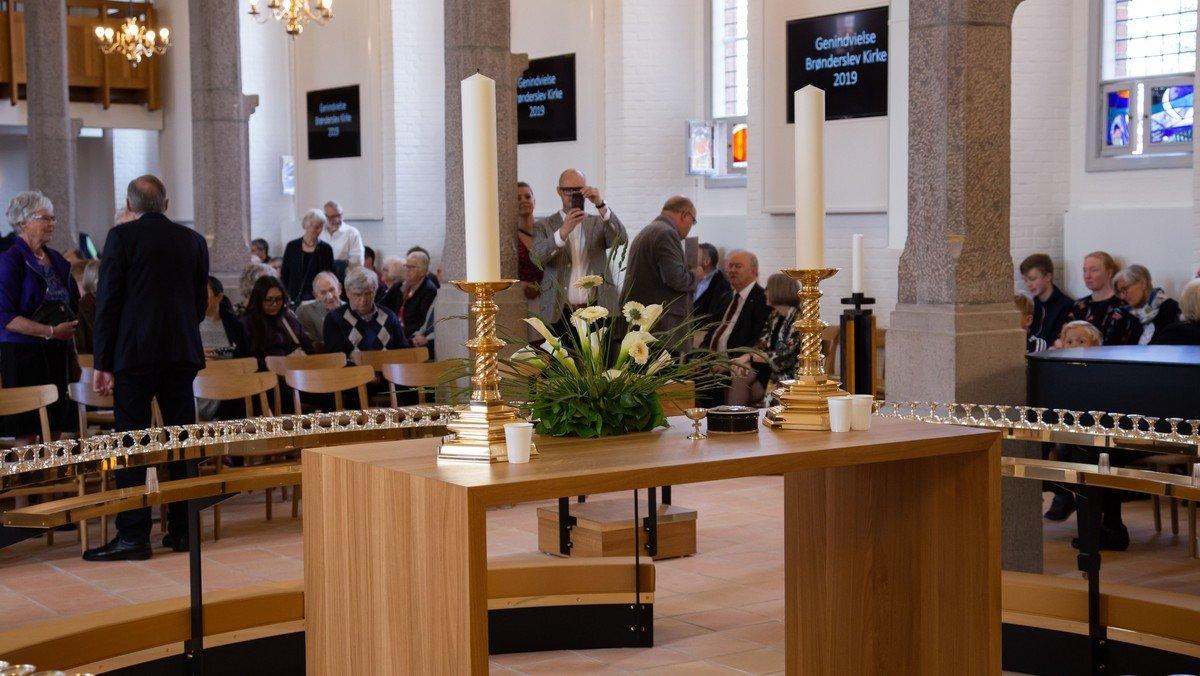 AFLYST Højmesse - Brønderslev Kirke