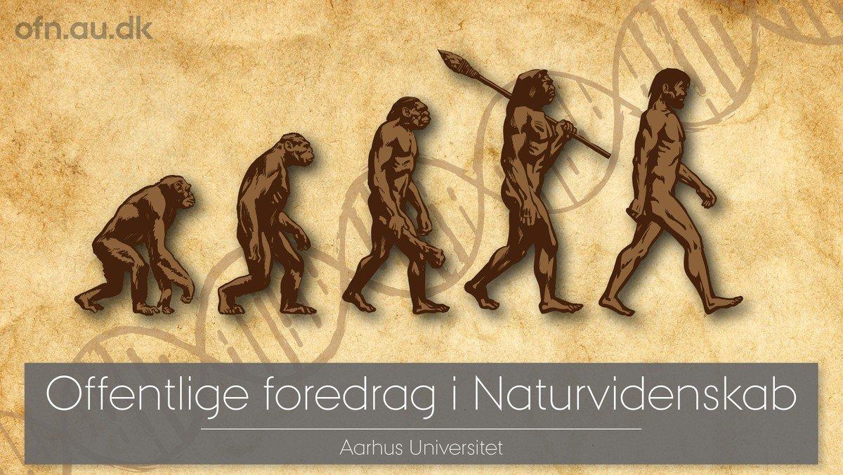 Livestream fra Aarhus Universitet - Det moderne menneske