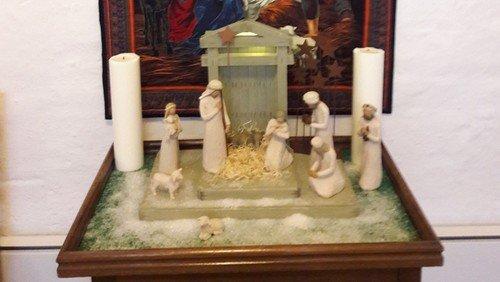 Julegudstjeneste i Toftum Hallen