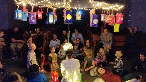 Lanterneworkshop og lysoptog