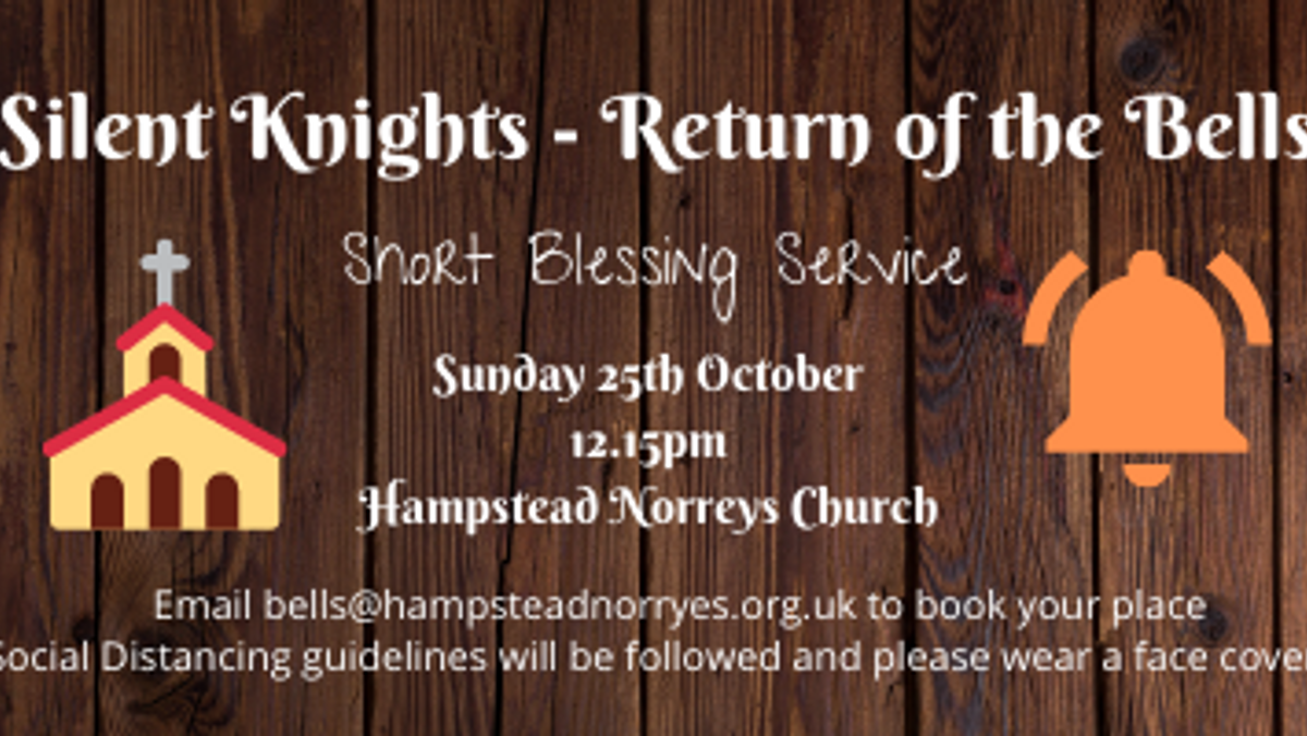 Short Blessing Service for the Bells at Hampstead Norreys