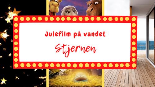 Julebiograf for børn på Kirkeskibet 2450: Stjernen