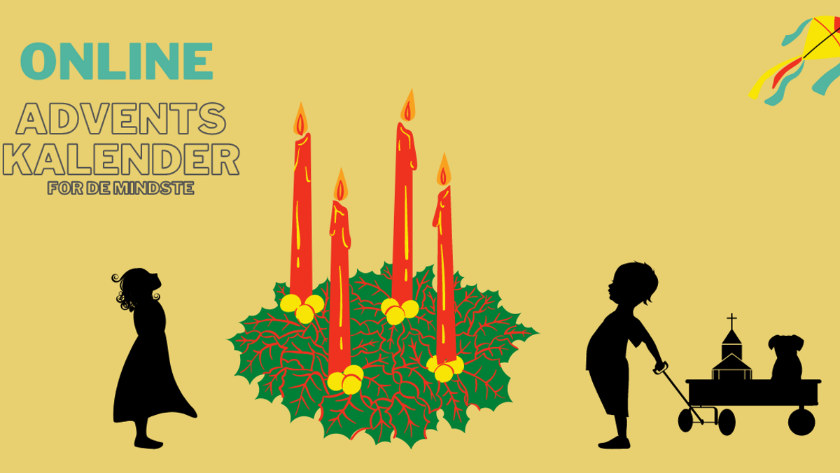 ONLINE adventsgudstjeneste for de mindste - 4. søndag i advent