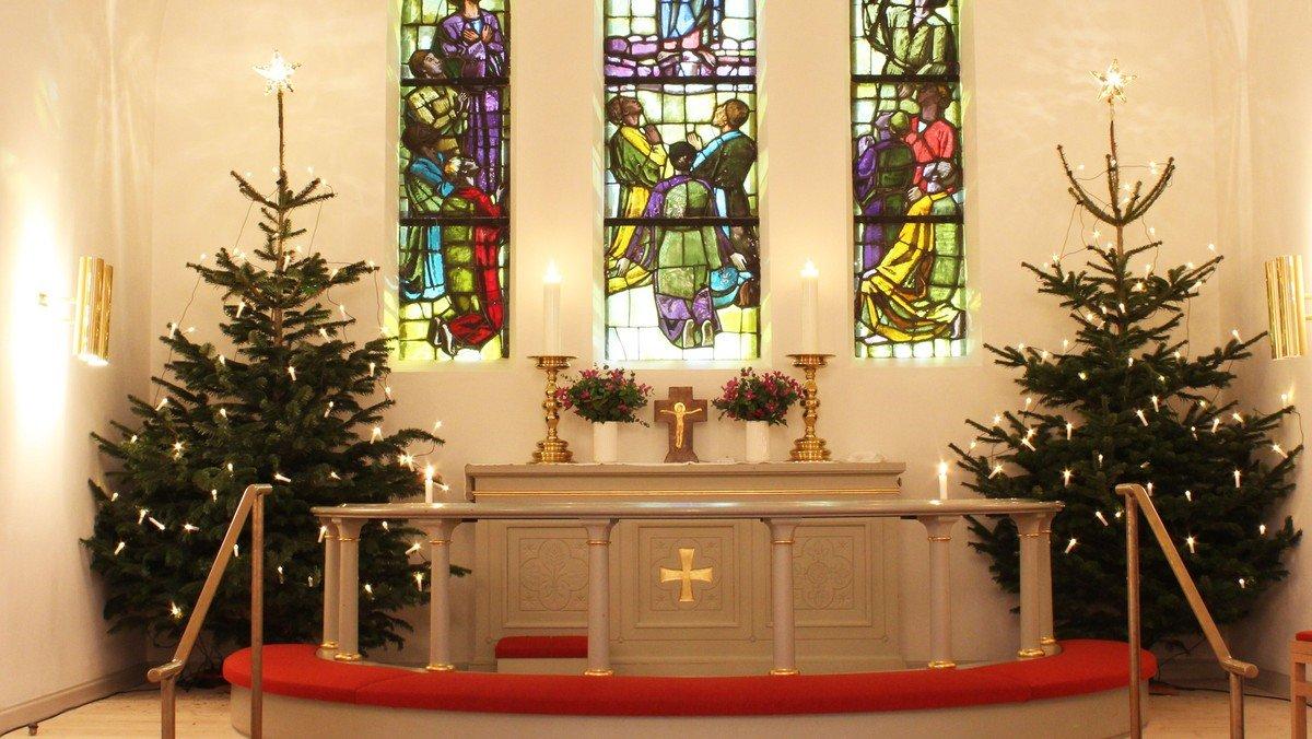 Julegudstjeneste ved Ingrid Halkjær-Lassen