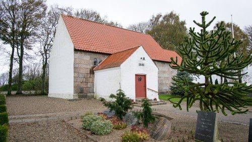 Alle Helgen gudstjeneste i Flejsborg Kirke
